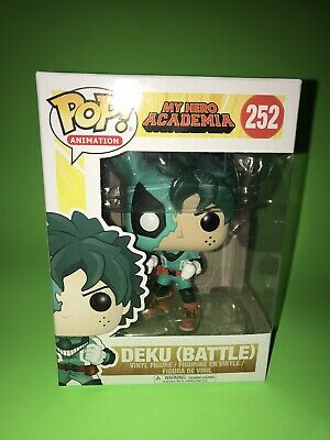 $14.99 • Buy Funko Pop My Hero Academia Deku Battle #252 Collectible Figure Midoriya