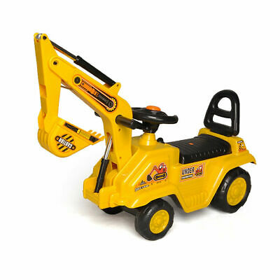 £39.99 • Buy Construction Digger Kids Ride On  Push Car Ride On Truck Construction Play Toy
