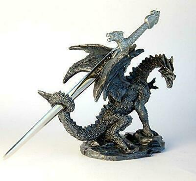 £12.99 • Buy Letter Opener/Ornament/Figurine - Dragon With Sword