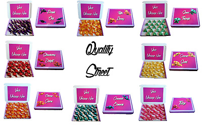 Quality Street Chocolates, Personalised, Choose Your Flavour, Perfect Gift • 8.95£