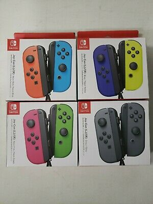 $89.95 • Buy 🎮Nintendo Switch Joy-Con Cons (L/R) Controllers Pair 4 Neon Colors 🎮FREE SHIP⚡