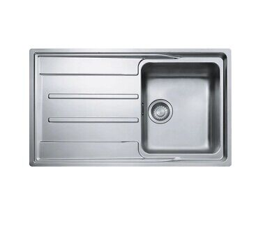 Franke Aton ANX 211 1.0 Single Bowl Stainless Steel Reversible Sink & Waste B • 159.99£