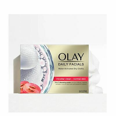 AU19.18 • Buy Olay Cleanse Daily Facials Micellar Toallitas Secas Pn 30pcs Women