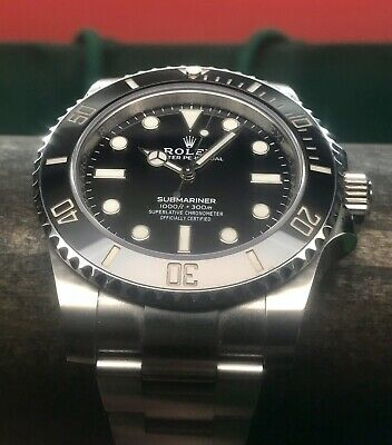 $ CDN13579.20 • Buy Rolex Oyster Perpetual Submariner No Date 114060 Ceramic USA 2019 Model Swiss