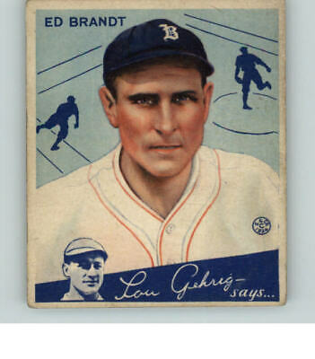 $20 • Buy 1934 Goudey #  5 Ed Brandt Braves Ex 359069 (kycards)