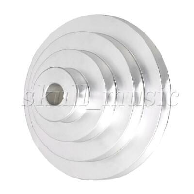 AU34.35 • Buy Aluminum Silver 4 Step Pagoda Pulley Belt For A Type V-belt 16mm