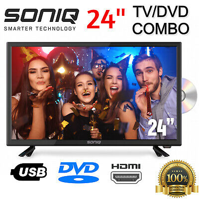 AU180.95 • Buy SONIQ TV/DVD Combo 24 Inch LED LCD 24  Television Built-In DVD Player NEW