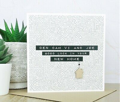 Personalised Handmade New Home Card • 3.99£