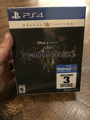 $45 • Buy Brand New! Kingdom Hearts 3 III Deluxe Edition (Sony PlayStation 4 PS4) Sealed!