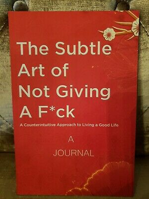 AU39.31 • Buy Journal For The Subtle Art Of Not Giving A Fck By HAPPY Pu 🔥🔥🔥