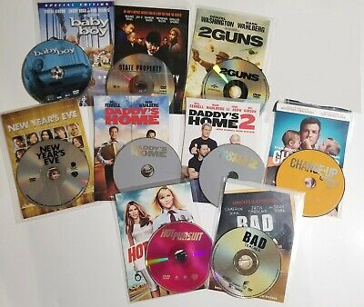 $ CDN12.23 • Buy Lot Of 9 DVDs : Action Drama Comedy Lot