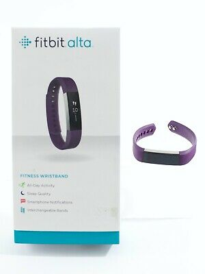 $ CDN25.19 • Buy Fitbit Alta Fitness Wristband Plum Color USED, Working FB406PMS