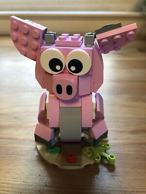 $10 • Buy Used (99% Complete) LEGO Chinese New Year Year Of The Pig (40186)