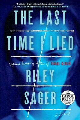 $24.10 • Buy Last Time I Lied, Paperback By Sager, Riley, Brand New, Free Shipping In The US