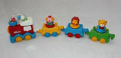 Rare Vintage Chicco Push Along Circus Toy Train For Baby/toddler • 4.99£