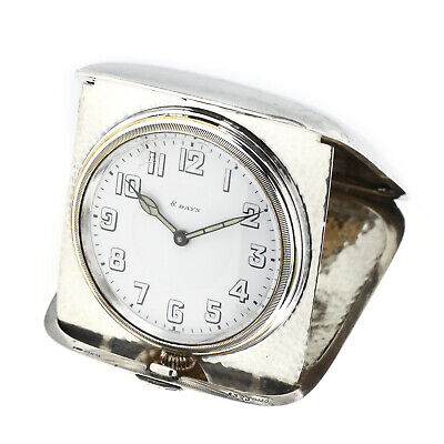 AU896.25 • Buy Octava Watch & Co Travel Clock Swiss Sterling Silver 8 Day