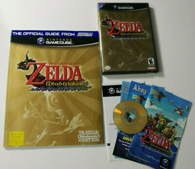 $84.99 • Buy Legend Of Zelda: The Wind Waker (GameCube, 2003) Complete CIB + Strategy Guide