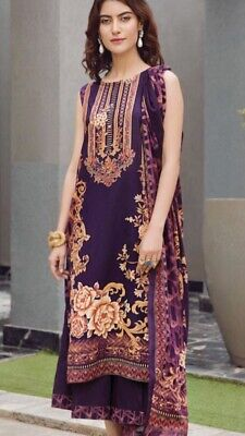 Pakistani Printed Lawn By Firdous Unstitched  • 23£