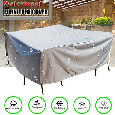 AU28.99 • Buy Waterproof Outdoor Furniture Cover Yard UV Garden Table Chair Shelter Protector
