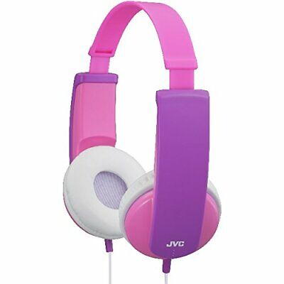 JVC Tiny Phones Kids Stereo Headphones With Volume Limiter - Pink • 16.99£