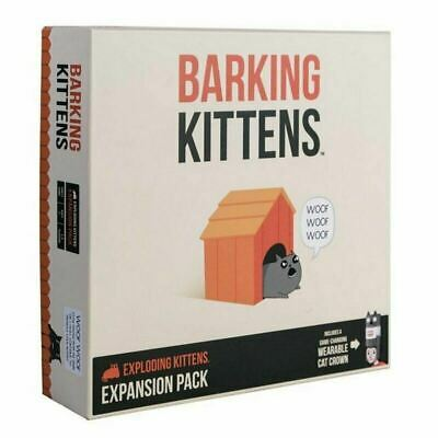AU37 • Buy Barking Kittens (3rd Exploding Kittens Expansion) Card Game Brand New