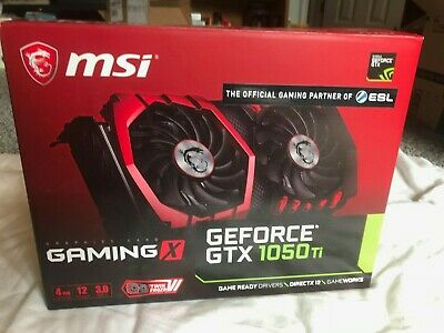 $ CDN102.15 • Buy MSI Graphics Card GeForce GTX 1050 TI Gaming 4GB