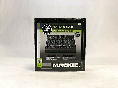 $289 • Buy Mackie 1202VLZ4 12 Channel Compact Mixer