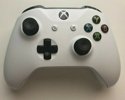 $45.67 • Buy 2x Xbox One S Wireless Bluetooth Controller Model 1708 White - AS IS PARTS ONLY