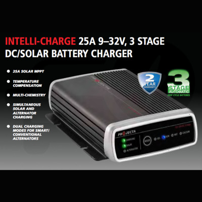 AU355 • Buy Latest Version 5 Projecta Dual Battery In Vehicle Charger Booster Dc To Dc Idc25
