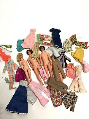 $ CDN19.05 • Buy BARBIE AND KEN LOT (4) VINTAGE 1960s Era W /CLOTHES&ACCESSORIES