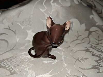 $ CDN12 • Buy Porcelain Mouse Gloss Figurine Made In England