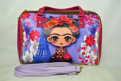 $27.99 • Buy Frida Kahlo Bag Handbag 100% Mexican Art Purse Paris Series