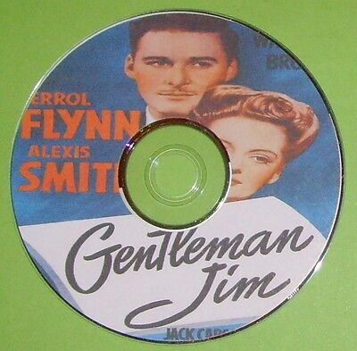 DRAMA 053: GENTLEMAN JIM 1942 Raoul Walsh Errol Flynn, Alexis Smith, Jack Carson • 4£