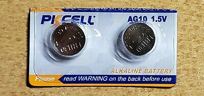 AU2.59 • Buy AG10 LR1130 Button Cell Battery, Pack Of 2 Batteries