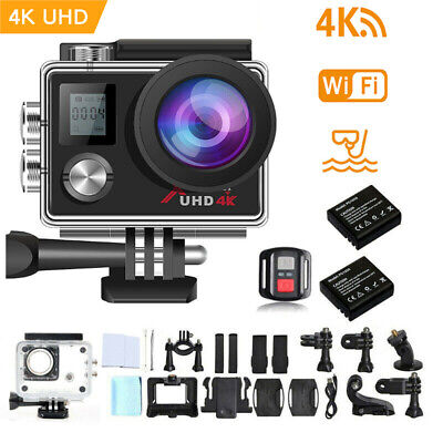 AU60.52 • Buy Campark 4K Action Camera UHD WiFi Sports Cam Video Camcorder Waterproof As Gopro