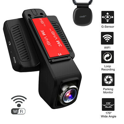 AU69.64 • Buy TOGUARD Dash Cam GPS WiFi Dashboard Camera FHD 1080P Car Camera DVR Recorder AU