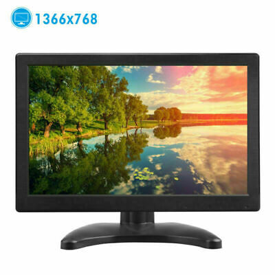 AU111.27 • Buy Portable 12  Inch TFT LCD CCTV PC Monitor Screen HDMI/VGA Speaker 160° Angle AU
