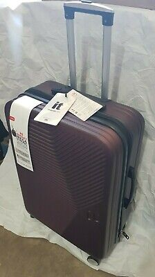 £29.99 • Buy IT HARD SHELL SUITCASE 8 WHEEL LUGGAGE TROLLEY CASE LIGHTWEIGHT TRAVEL BAG NEW