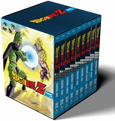 AU399.99 • Buy Dragon Ball Z Complete Season Series 1 2 3 4 5 6 7 8 9 Bluray Box Set Sealed Dvd