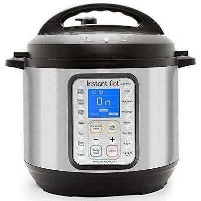 $162.69 • Buy Instant Pot Duo Plus 9-in-1 Electric Pressure Cooker, Sterilizer, Slow Cooker,