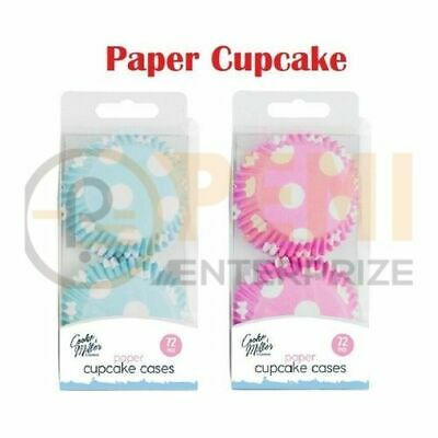 £3.70 • Buy 72 Pack CUPCAKE CASES LINER Wrapper Paper Muffin Baking Cup Cake UK SELLER