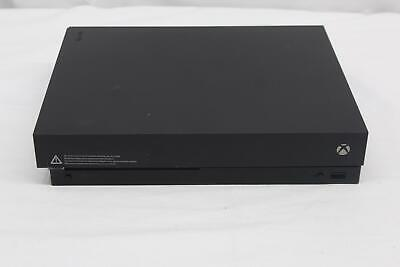 $140 • Buy Microsoft Xbox One X (1787) 1 TB, Black, Video Gaming Console / System AS IS