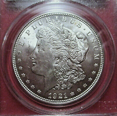 $57.50 • Buy U.s. Morgan Silver Dollar-1921- Pcgs Grade Ms64  #7296.64/7695849 Km#110  Mdm32