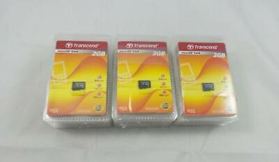 $ CDN527.27 • Buy 10x Transcend 2 GB MicroSD Flash Memory Card (without SD Adapter) (TS2GUSDC)