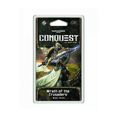 AU14.99 • Buy WRATH OF THE CRUSADERS Warhammer Conquest Card Game War Pack NEW