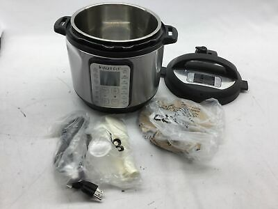 $64.72 • Buy Instant Pot DUO Plus 60, 6 Qt 9-in-1 Multi- Use Programmable Pressure Cooker, Sl