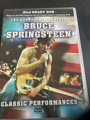 BRUCE SPRINGSTEEN Glory Days DARKNESS On The Edge If Town 14 Songs Live DVD • 4.99£