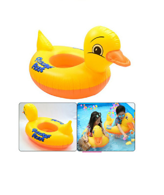 £3.99 • Buy Quacker Duck Inflatable Pool Swimming Ring Floating Baby Kids Seat Beach Boat