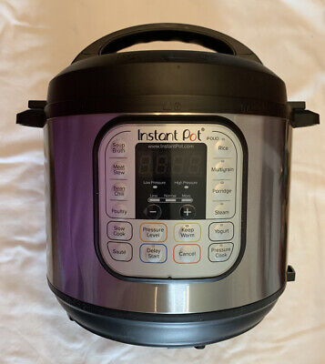 $59.99 • Buy Instant Pot Duo 6 Quart - 7-in-1 Pressure Cooker - Used