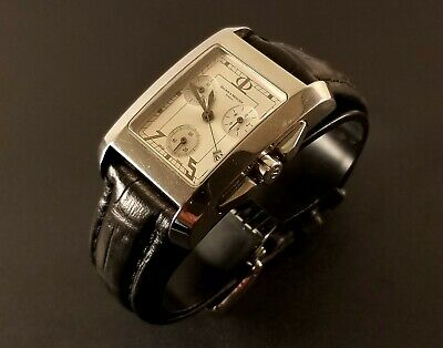 $ CDN329.99 • Buy Vintage Men's Baume & Mercier Wrist Watch Swiss Made With Date & Chronograph